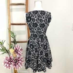 Dolce & Gabbana Dresses - Dolce & Gabbana Cotton Lace Floral Print Dress